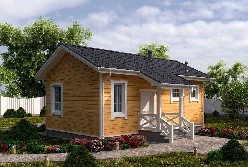 Casas de madera de entramado ligero